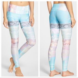 Teeki Tarot Magick Hot Pant Legging - Blue